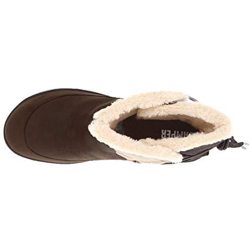 Camper Assorted Leather Multi Donna Stivali textile Pista Peu qnr1HBwqT