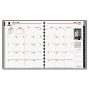 AAG70260W45 UNITED STATIONERS (OP) PLANNER,DESK,MNTHLY,GR -