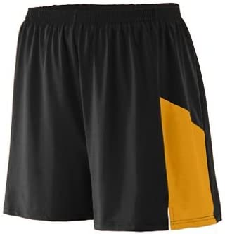 Sprint Short Adult BLACK GOLD 2XL