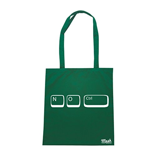 Barato Reciente Borsa SENZA CONTROLLO FUNNY NERD - Verde Bottiglia - MUSH by Mush Dress Your Style Comprar En Línea pCiKwvT
