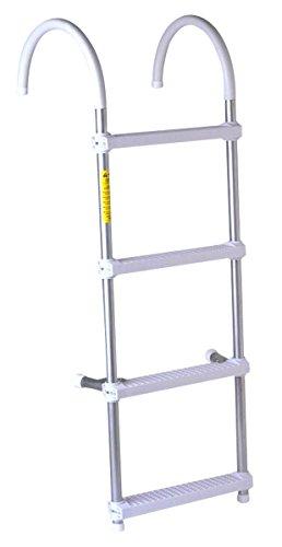 - Deluxe Gunwale hook Ladders 4-Step 11''