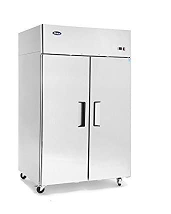 Amazoncom New Stainless Steel 52Inch Two Door Upright Commercial