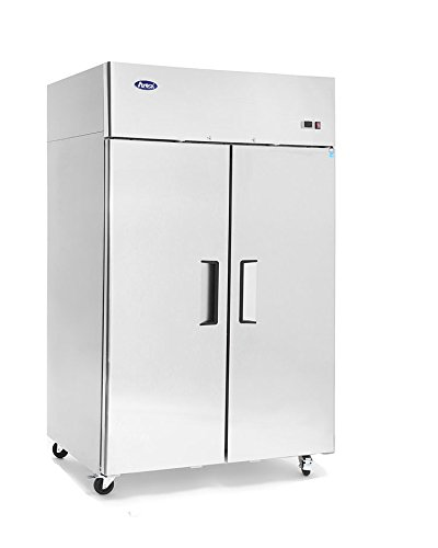 Atosa MBF8002 Top Mount (2) Two Door Freezer 2 Year PARTS + LABOR / 5 Year Compressor WARRANTY by Atosa USA
