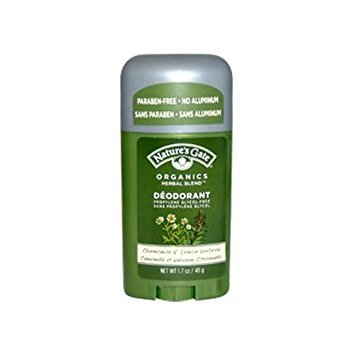 2 Packs of Nature's Gate Organics Deodorant Stick Chamomile And Lemon Verbena - 1.7 Oz - Lemon Verbena Natures Gate