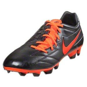 Nike Heren T90 Strike Iv Fg Voetbalschoen, Zwart / Total Crimson / Total Crimson, 6 D Us