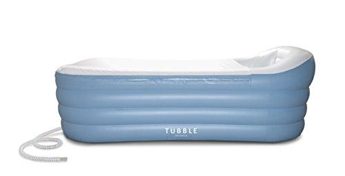 (Inflatable Bathtub, Tubble Royale, Adult Size Portable Home Spa tub, Comfortable Bath, Quality Tub - 275 Liter)