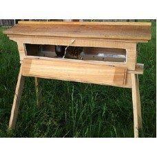 Cedar Top Bar Observation Hive by Beehive Barn LLC