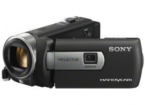 Sony DCR-PJ5 Handycam Camcorder with Built in Projector