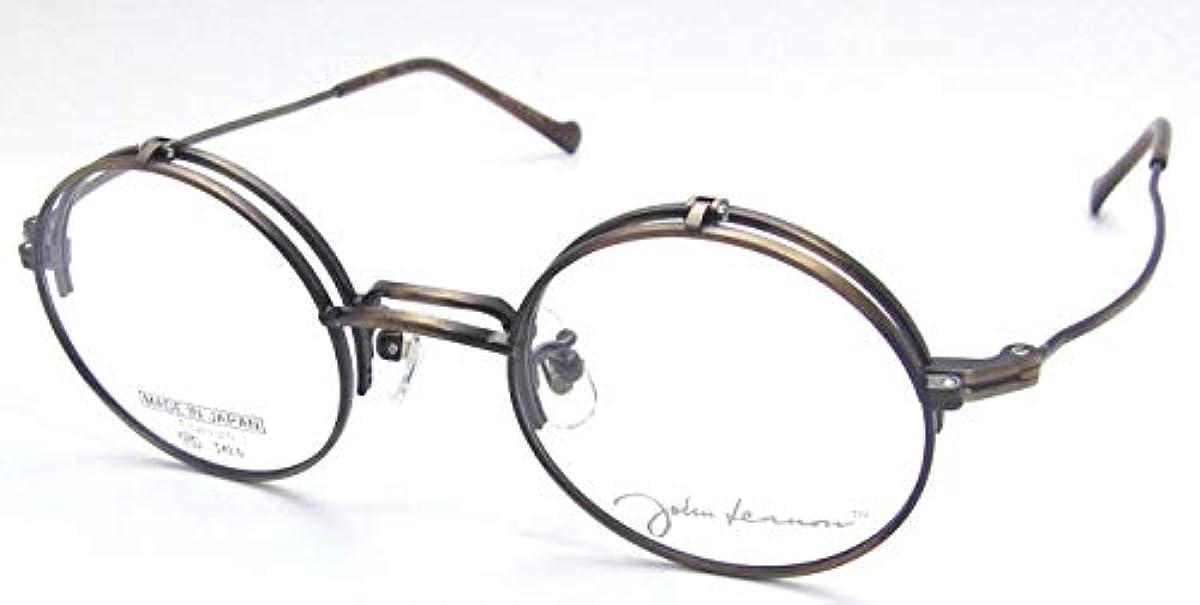 [해외] 존 레논 뛰어 인상 안경 JL-1076 일본산 티퍼터늄티퍼터늄 선택할 수 있는 렌즈부 단식 하네인상도부,다데안경 환안경
