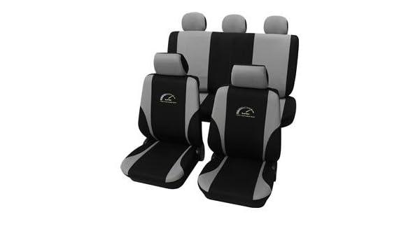Amazon.es: Eco Class Turbo gris 11 piezas Asiento Asiento Fundas schonbezüge Colchón Auto Colchón