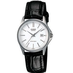 Casio #LTP1183E-7A Women's Leather Strap Fashion Watch with Date