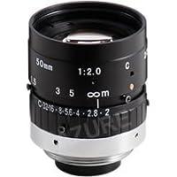 Azure Photonics AZURE-5020MM 2/3 50mm F2.0 Manual Iris C-Mount Lens, 2 Megapixel Rated