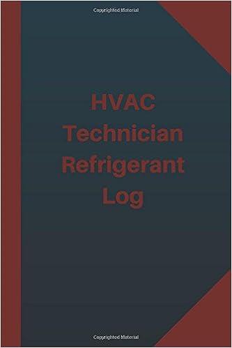 refrigerant tracking log sheets