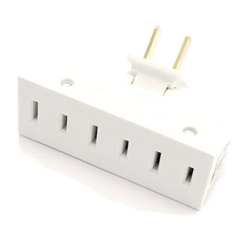 Leviton 69 I 15 Triple Outlet Adapter