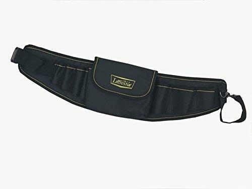 LittleStar Durable Belt Tool Bag Fanny Pack Utility PouchElectrical Maintenance Tool Pouch Bag Technician's Tool Holder Work Organizer Framer's Tool Belt by LittleStar
