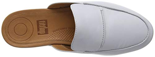 Serene Pearl Leather Women's FitFlop Mules HY7n145W4
