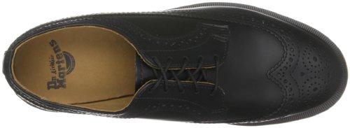 Dr. Marten's 3989, Unisex-Adult Lace-Up Flats Black