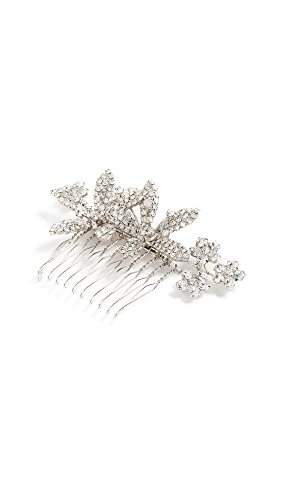 Jennifer Behr Women's Adabella Comb, Clear/Silver, One Size by Jennifer Behr