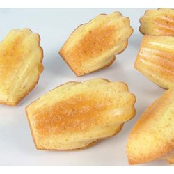 Pavoflex Flexible Non-Stick Mold, Madeleine 75x45mm x 18mm High, 44 Cavities