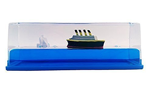 Titanic Liquid Wave Paperweight Desk Toy by Universal Specialties
