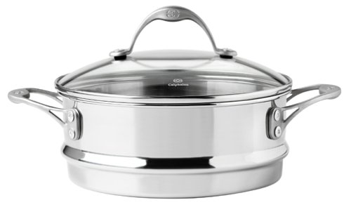 Calphalon One Infused Anodized Stainless-Steel Stack Steamer