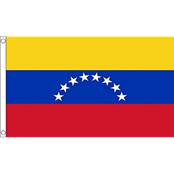 AZ FLAG Bandera de Venezuela SIN Escudo 150x90cm - Bandera ...