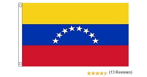 Bandera VENEZUELANA SIN Armas 90 x 150 cm AZ FLAG Bandera de Venezuela SIN Escudo 150x90cm