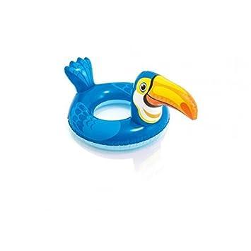 Flotador para niños, ayuda para nadar, animal (tucán/ave): Amazon.es: Juguetes y juegos