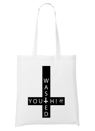 Wasted Youth Bag White