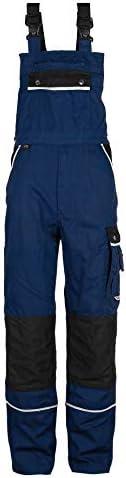 TMG Arbeitslatzhose Herren | Schutz-Latzhose mit Kniepolster-Taschen