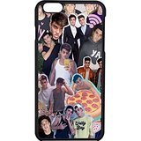 Twin Phone - Dolan Twins Collage Case / Color Black Rubber / Device iPhone 6/6s