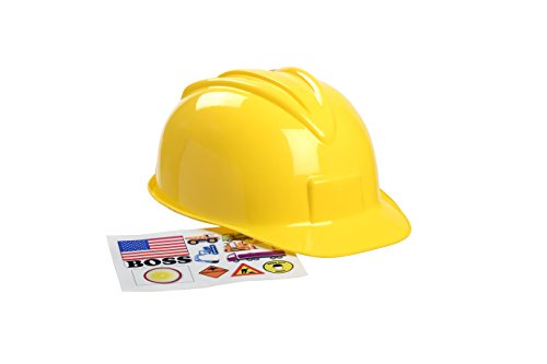 Man With Yellow Hat Costume Amazon (Aeromax Jr. Construction Helmet with Stickers)