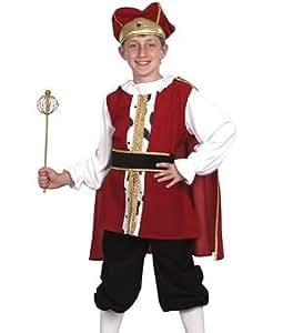 Disfraz de niño de Rey Medieval. 10 - 13 años