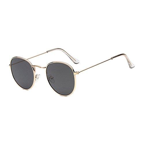 Hombre de Nuevo BB3444447C5 C11 Colores Mujer TL Gafas Ricos Metal MN Sol polarizadas Redondo MN3444447BB Sunglasses Clásico TWP6cfaP