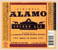 Golden Beer (Alamo Beer Company - Remember Alamo Golden Ale - Collectible Beer Bottle Labels - Set of 4)