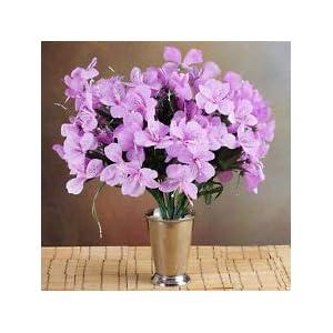 6 Lavender Bushes Silk Mini PRIMROSES Wedding Flowers Bouquets Decorations Sale 37