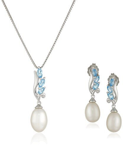 sterling-silver-swiss-blue-topaz-and-freshwater-cultured-pearl-necklace-and-earrings-jewelry-set