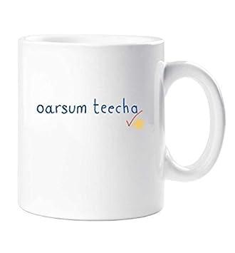 Oarsum Teacher Mug Thanks Friend Funny Gift Cup Birthday Christmas