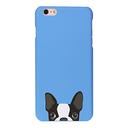 Arunners iPhone 6 Plus/6S Plus Case Cover French Bulldog Cute Kawayi - Blue (French Bulldog 6plus Case compare prices)