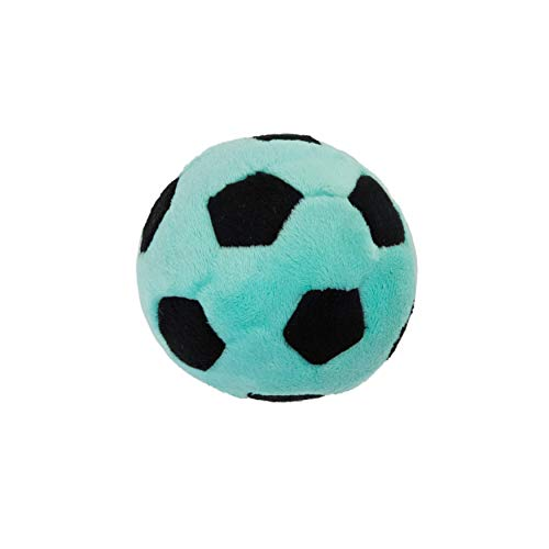 Outward Hound Squeaky Sportz Ballz Soccer Ball Dog Toy with Squeaker Ball