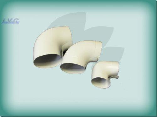 Okapak PVC SE Bogen 90/° 28 x 20mm