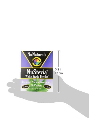NuNaturals Nustevia White Stevia with Maltodextrin Packets, 50 count (Pack of 24) by NuNaturals (Image #6)