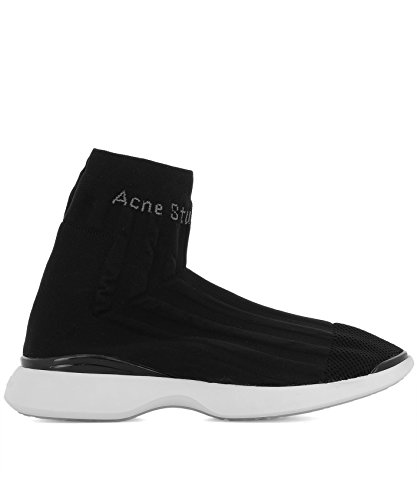 Acne Studio Herren 2ef176black Zwart Hi Top Sneakers