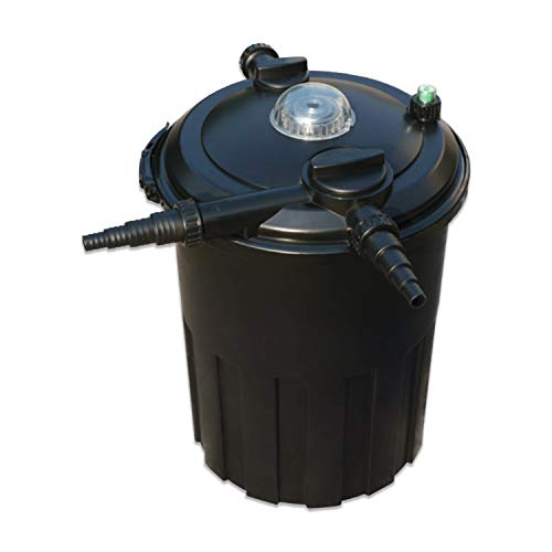 Half Off Ponds - HOPPF3000 - Pressure Filter with 18-Watt UV for Ponds Up to 3,000 Gallons ()