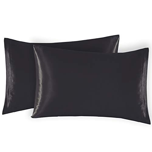 Amazon Com Exq Home Satin Pillowcase For Hair And Skin