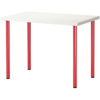 Amazon Com Ikea New Computer Desk Table Multi Use Red