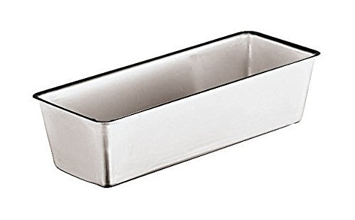 Paderno World Cuisine 47064-26 Aluminum Loaf Pan, Gray