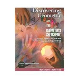 Discovering Geometry: With the Geometer's Sketchpad
