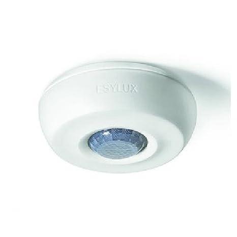 Detector de presencia ESYLUX PD 360i/8 Basic Blanco 360 grados RW aprox. 8 m AP Basic Detector de movimiento completo 4015120430435: Amazon.es: Bricolaje y ...