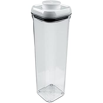 OXO Good Grips POP Square Food Storage Container, Small Square Lid, Tall    2.1